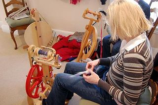 Heather 2 spinning