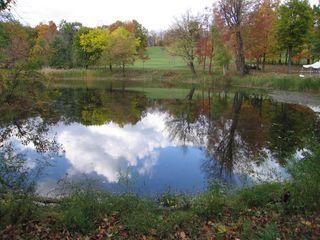 Olana lake reflection
