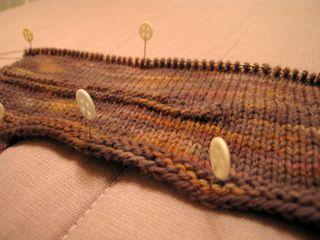 Man scarf closeup