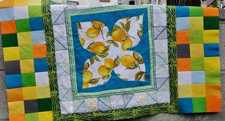 Lemon quilt
